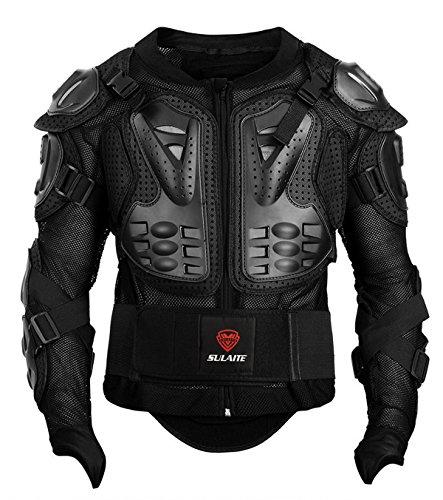 GuTe Motorcycle Protective JacketSport Motocross MTB Racing Full Body Armor Protector for Men XL