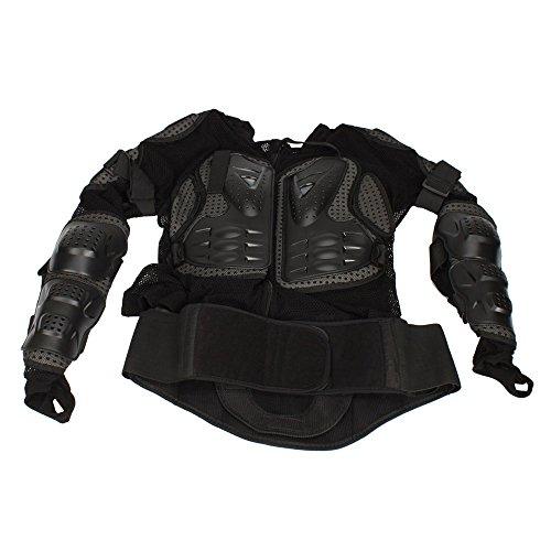 Motorcycle Pro Motorcross Racing Sexy Body Armor Jacket Protector Gear Black X