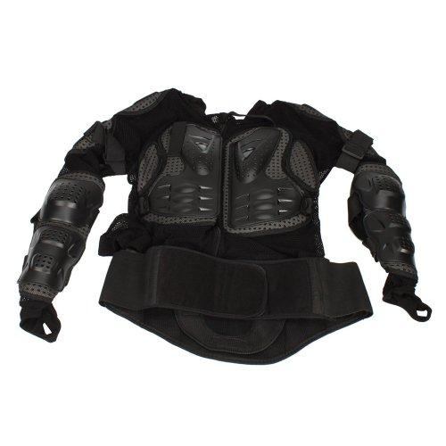 Motorcycle Pro Motorcross Racing Sexy Body Armor Jacket Protector Gear Black XL