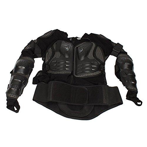 Motorcycle Pro Motorcross Racing Sexy Body Armor Jacket Protector Gear Black XXXL