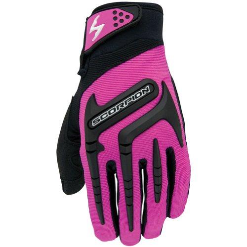 Scorpion Skrub Womens Textile Sports Bike Racing Motorcycle Gloves - Pink  Large