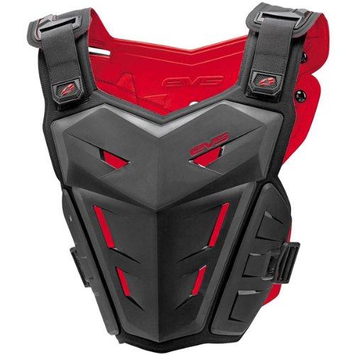 EVS F1 Adult Roost Guard MotoXOff-RoadDirt Bike Motorcycle Body Armor - Black  SmallMedium