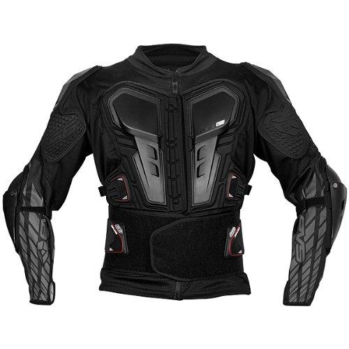 EVS G6 Adult Ballistic Jersey MXOff-RoadDirt Bike Motorcycle Body Armor - Black  3X-Large