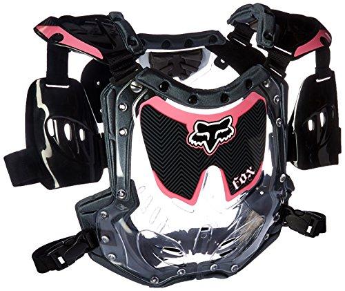 Fox Racing R3 Womens Roost Deflector MotoXOff-RoadDirt Bike Motorcycle Body Armor - BlackPink  SmallMedium
