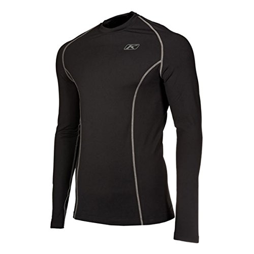 Klim Aggressor 10 Long-Sleeve Shirt Mens Undergarment Off-RoadDirt Bike Body Armor - Black  X-Large