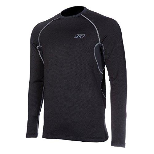Klim Aggressor 20 Short-Sleeve Shirt Mens Undergarment Off-RoadDirt Bike Body Armor - Black  Medium