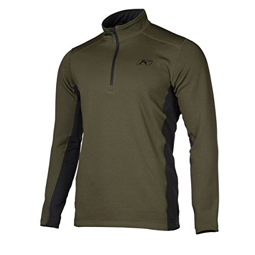 Klim Aggressor 30 Short-Sleeve Shirt Mens Undergarment Off-RoadDirt Bike Body Armor - Green  Medium