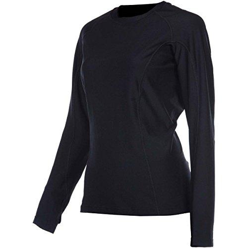 Klim Solstice Base Layer Top Long-Sleeve Shirt Womens Undergarment Off-RoadDirt Bike Body Armor - BlackSmall