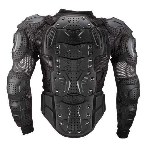 Motorcycle Motorbike Body Armor Protection Motocross Racing Jacket Clothing Protection jacket Black X-Large