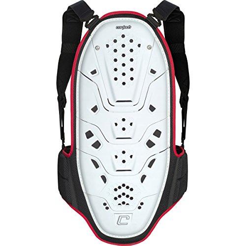 Cortech Latigo Adult Back Protector Body Armor - WhiteRedBlack  LargeX-Large