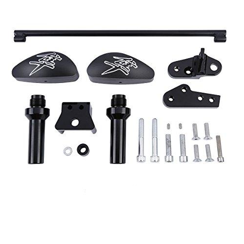 XFMT Moto Body Protectors Frame Sliders Kit For Suzuki 2008-2015 GSX-R 1300 Hayabusa