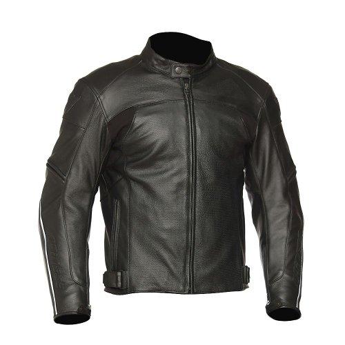 DAINESE Zen Evo Leather Motorcycle Jacket - 4252 Black