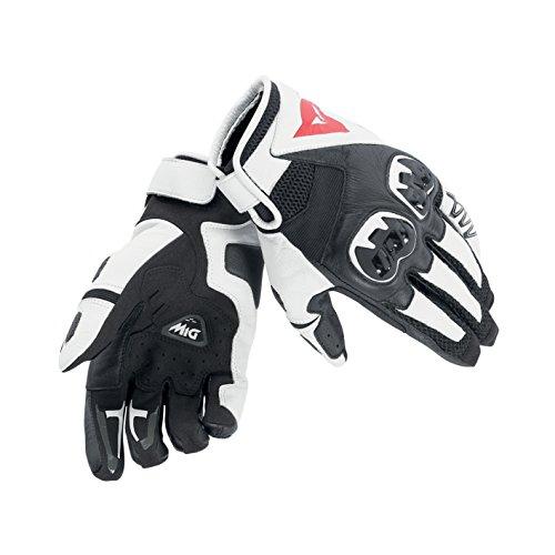 Dainese C2 Mig Unisex Gloves Black White Black Large