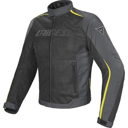Dainese Hydra Flux D-Dry Jacket BLACKDARK-GULL GREYFLUORESCENT YELLOW