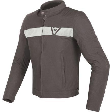Dainese Stripes Textile Mens Motorcycle Jacket BlackBlack 48 Euro38 USA