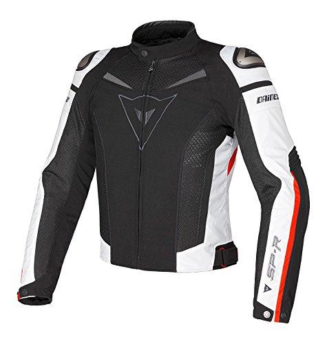 Dainese Super Speed Tex Textile Jacket Euro 50US 40 BlackWhiteRed