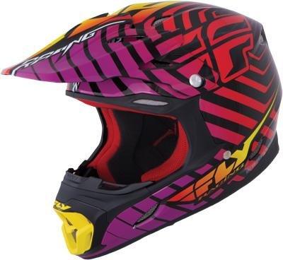Fly Racing 73-3647L Three4 Sonar Helmet