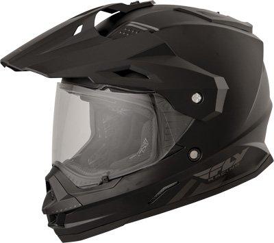Fly Racing 73-7011L Trekker Helmet Color Matte Black Size Large