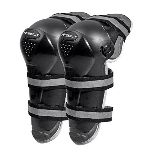 Jili Online 1 Pair Motorcycle Motocross Bike Racing Knee Pads Protector Guards Black