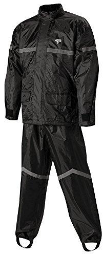 Nelson Rigg SR-6000 Stormrider Two-Piece Rain Suit - Black 2X - SR-6000-BLK-05X