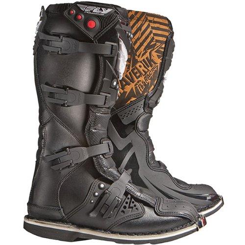 Fly Racing Maverik Mx Adult Off-road/dirt Bike Motorcycle Boots - Color: Black, Size: 13