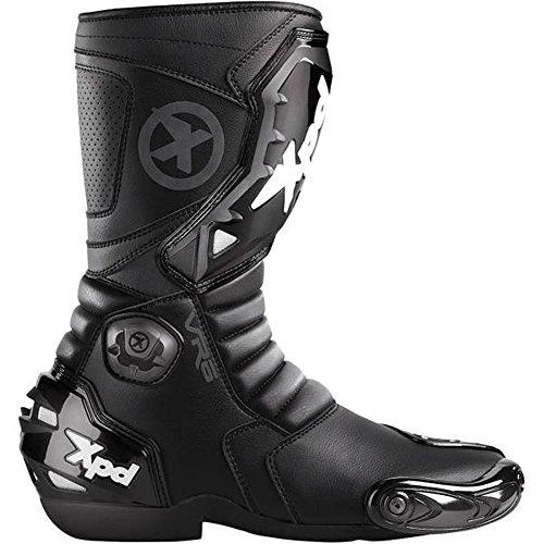 Spidi Vr6 Men's Street Racing Motorcycle Boots - Black / Size 12