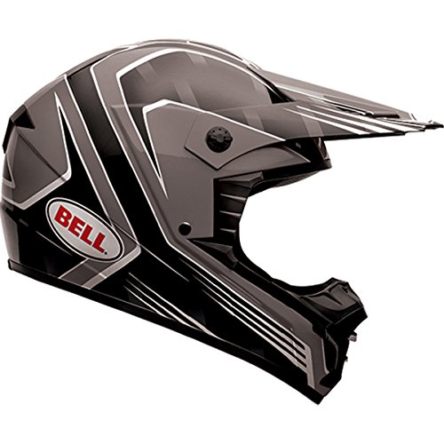 Bell SX-1 Race Black Motocross Helmet - Large