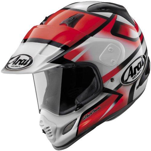 Arai XD4 Diamante RedWhite Dual Sport Helmet - Small