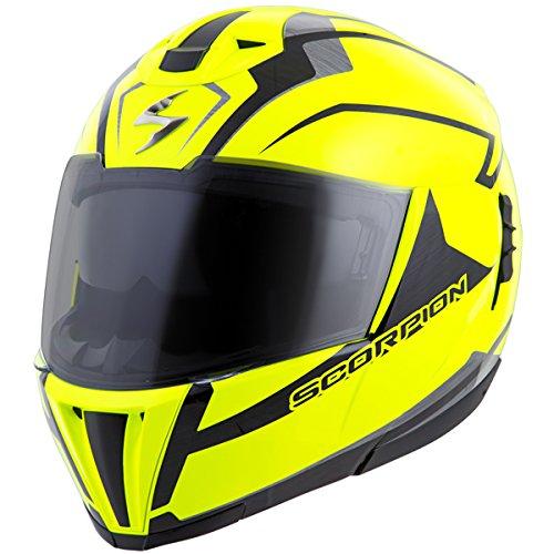 Scorpion Exo-900x Transformerhelmet 3-in-1 Street Motorcycle Helmet (neon, Large)
