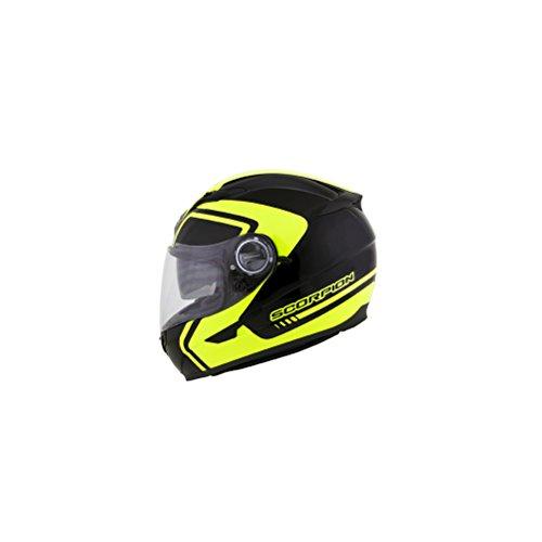 Scorpion West Exo-500 Street Bike Motorcycle Helmet - Neon / Large