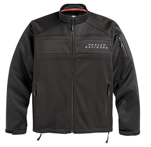 Harley-Davidson Mens Precision Soft Shell Jacket - 98514-12VM MED