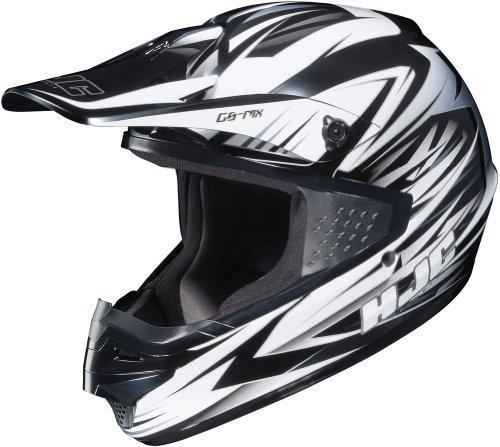 HJC CS-MX Shattered Motocross Motorcycle Helmet MC-10 Medium