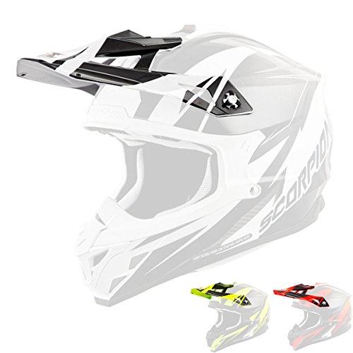 Scorpion Peak Visor Vx-35 Motorcycle Helmet Accessories - Krush WhiteOne Size