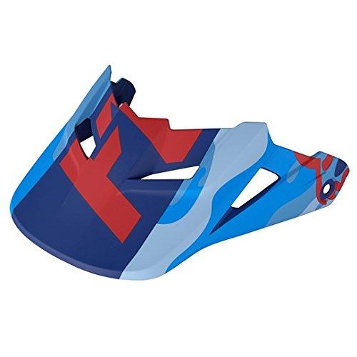 Fox Racing MX15 V1 HELMET VISOR-CAMO BLU CAM XL2XL BLU CAM XL2XL 14433-360-XL2XL