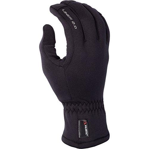 Klim 20 Liner Mens Snow Snowmobile Gloves - Black  Medium