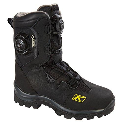 Klim Adrenaline GTX Boa Mens Snowmobile Boots - Size 12  Black