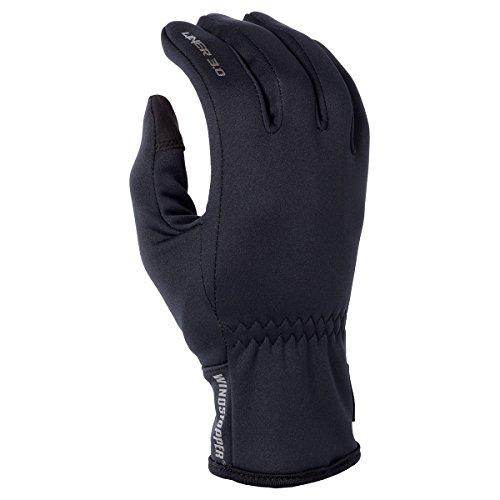 Klim Glove Liner 30 Mens Snowmobile Glove - X-Large  Black