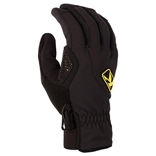 Klim Inversion Mens Ski Snowmobile Gloves -XL-Black