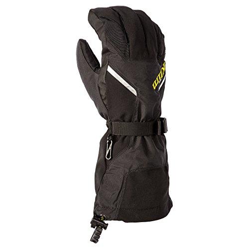 Klim Klimate Mens Ski Snowmobile Gloves - Black  X-Large