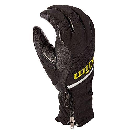 Klim Powerxross Mens Snowmobile Gloves - Large  Black