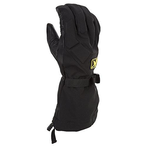Klim Togwotee Mens Snowmobile Gloves - Black  X-Large