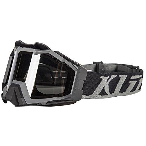 Klim Viper Pro Snow Goggle - Flatline Gray Smoke  Polarized