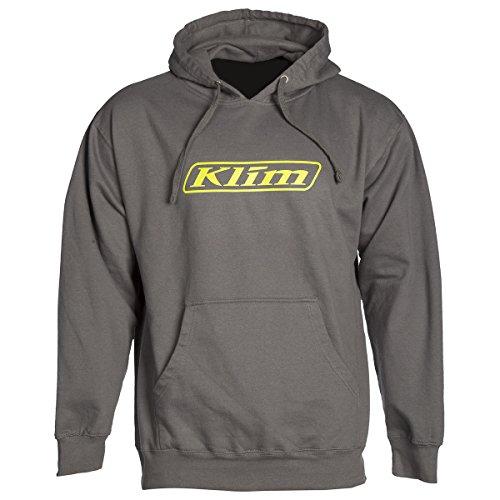 Klim Word Pullover Hoodie - Large  Dark Gray