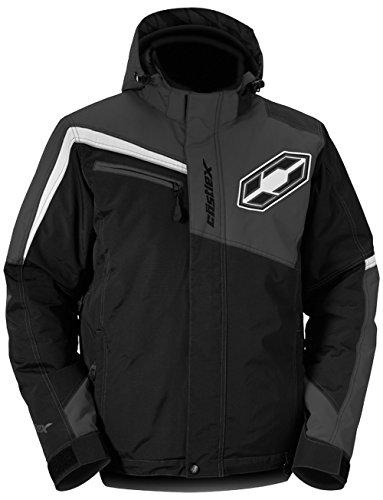 Castle X Phase Mens Snowmobile Jacket Black XL