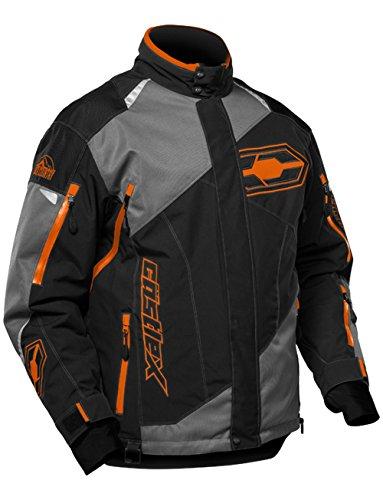 Castle X Thrust Mens Snowmobile Jacket Orange LG