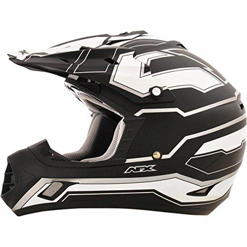 AFX FX-17 Works Mens Motocross Helmets - Flat Black - 2X-Large