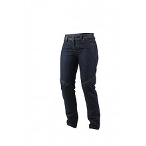 Dainese Queensville Reg Womens Riding JeansPants Denim Blue Aramid 28 USA