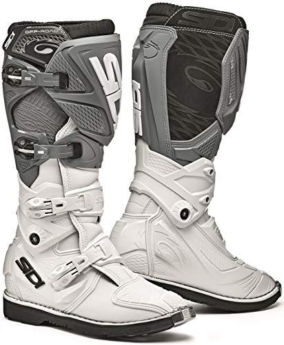 Sidi Womens X-3 TA Lei MX Boots WhiteGrey 10543