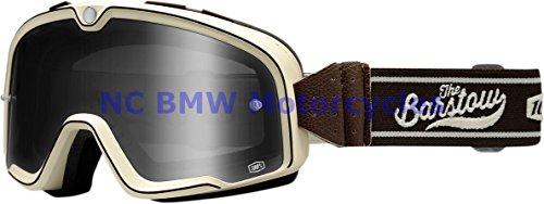 100 Motorcycle Riding Goggle Barstow Legend Ascott Smoke Lens 50002-127-02