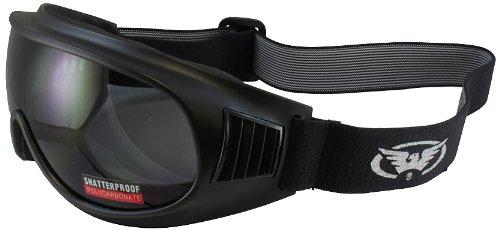 Global Vision Trump Riding Goggles Matte Black FrameSmoke Lens